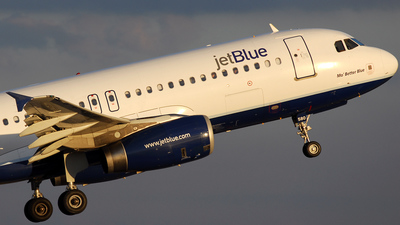 N580JB - Airbus A320-232 - jetBlue Airways
