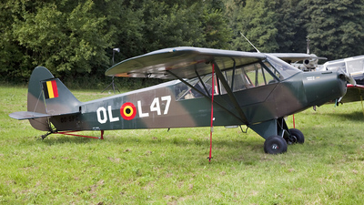 OO-SPG - Piper PA-18-95 Super Cub - Aero Club - Brasschaat