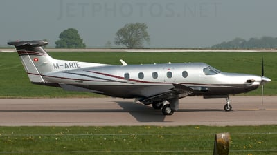 M-ARIE - Pilatus PC-12/47E - Private