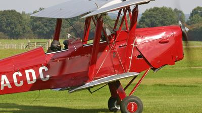 G-ACDC - De Havilland DH-82A Tiger Moth - Private