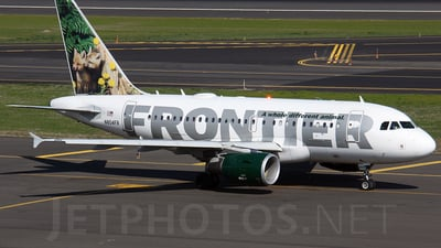 N804FR - Airbus A318-111 - Frontier Airlines