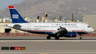 N808AW - Airbus A319-132 - US Airways (America West Airlines)