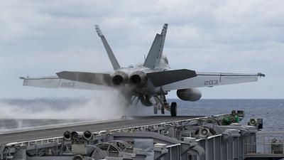 166613 - Boeing F/A-18F Super Hornet - United States - US Navy (USN)