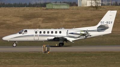 A picture of SERGY - Cessna 560 Citation Ultra - [5600414] - © Mats Lundberg