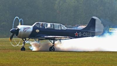 G-CBSS - Yakovlev Yak-52 - Private