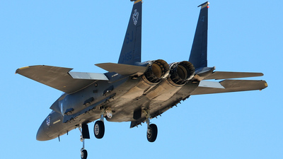 89-0495 - McDonnell Douglas F-15E Strike Eagle - United States - US Air Force (USAF)
