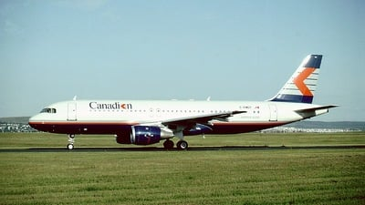 C-FMES - Airbus A320-211 - Canadian Airlines International