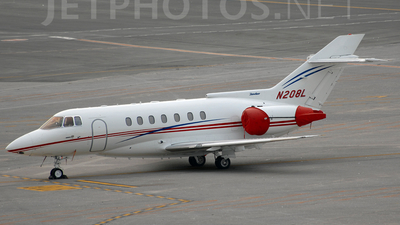 N208L - British Aerospace BAe 125-1000A - Private