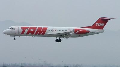PT-MQM - Fokker 100 - TAM Linhas Aéreas