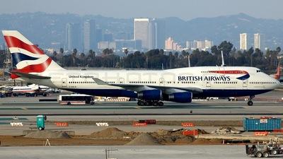 G-BNLB - Boeing 747-436 - British Airways