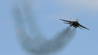 26 - Mikoyan-Gurevich MiG-29UB Fulcrum - Hungary - Air Force