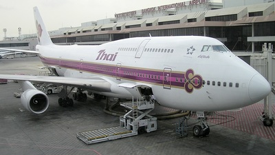 HS-TGA - Boeing 747-4D7 - Thai Airways International