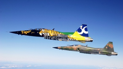 FAB4846 - Northrop F-5E Tiger II - Brazil - Air Force