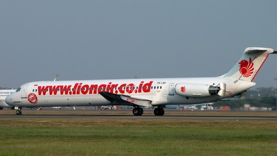 PK-LMI - McDonnell Douglas MD-82 - Lion Air