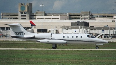 N35TJ - Bombardier Learjet 35 - Private