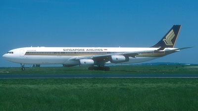 9V-SJJ - Airbus A340-313X - Singapore Airlines
