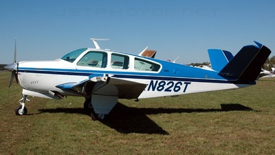 N826T - Beechcraft V35B Bonanza - Private