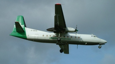 G-CEXG - Fokker F27-500 Friendship - Channel Express