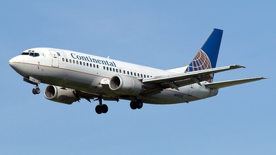 N59338 - Boeing 737-3T0 - Continental Airlines