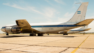 LV-WXL - Boeing 707-365C - Argentina - Air Force