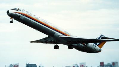 JA8496 - McDonnell Douglas MD-81 - Japan Air System (JAS)