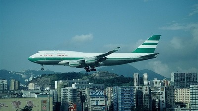 VR-HOP - Boeing 747-467 - Cathay Pacific Airways