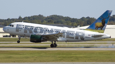 N802FR - Airbus A318-111 - Frontier Airlines