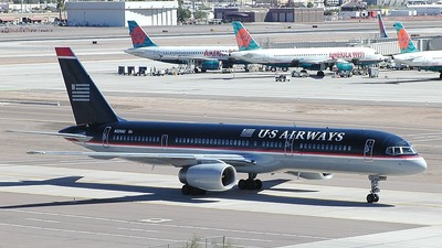 N604AU - Boeing 757-225 - US Airways