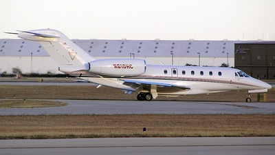 N610HC - Cessna 750 Citation X - Private