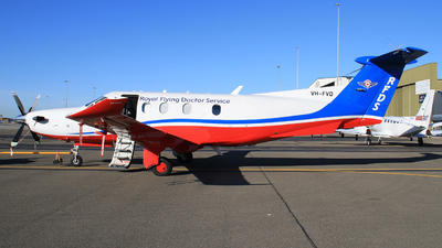 VH-FVD - Pilatus PC-12/47E - Royal Flying Doctor Service of Australia (Central Section)