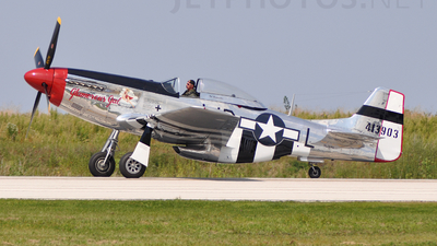 NL751RB - North American P-51D Mustang - Private