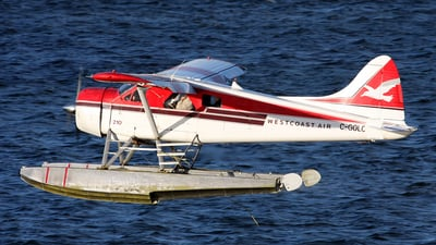 C-GOLC - De Havilland Canada DHC-2 Mk.I Beaver - West Coast Air