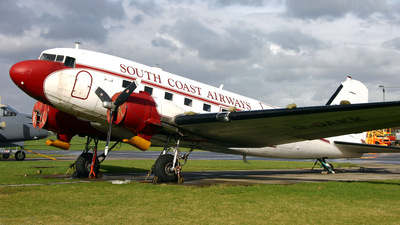 G-DAKK - Douglas DC-3 - South Coast Airways