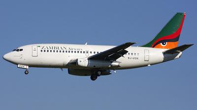 9J-KDK - Boeing 737-219(Adv) - Zambian Airways