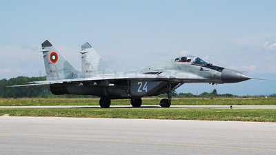 24 - Mikoyan-Gurevich MiG-29A Fulcrum - Bulgaria - Air Force