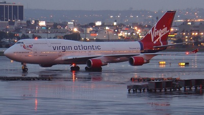 G-VHOT - Boeing 747-4Q8 - Virgin Atlantic Airways