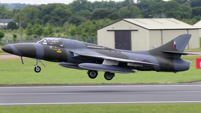 G-BZSF - Hawker Hunter T.8B - Private