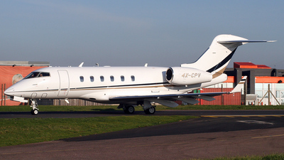 4X-CPV - Bombardier BD-100-1A10 Challenger 300 - Private