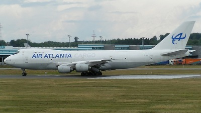TF-ARJ - Boeing 747-236B(SF) - Air Atlanta Icelandic