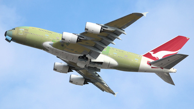F-WWSK - Airbus A380-842 - Airbus Industrie