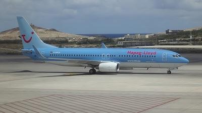 D-AHLH - Boeing 737-8K5 - Hapag-Lloyd