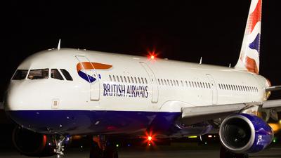 G-EUXM - Airbus A321-231 - British Airways