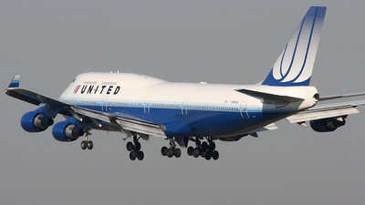 N193UA - Boeing 747-422 - United Airlines