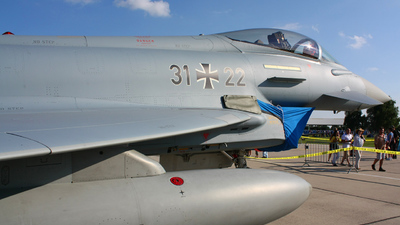 31-22 - Eurofighter Typhoon EF2000 - Germany - Air Force