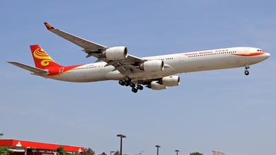 B-6509 - Airbus A340-642 - Hainan Airlines