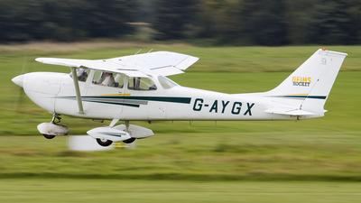 A picture of GAYGX - Cessna FR172G Rocket - [0208] - © Jid Webb