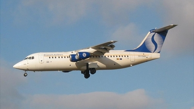 OO-DWB - British Aerospace Avro RJ100 - SN Brussels Airlines
