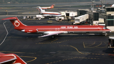 N805NY - McDonnell Douglas MD-82 - New York Air