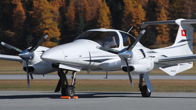 A picture of HBLTV - Diamond DA42 Twin Star - [42.284] - © Mirko Bleuer