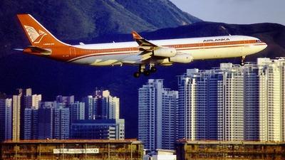 4R-ADB - Airbus A340-311 - AirLanka